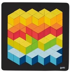 Puzzle 3D en bois GOKI - 87 pièces