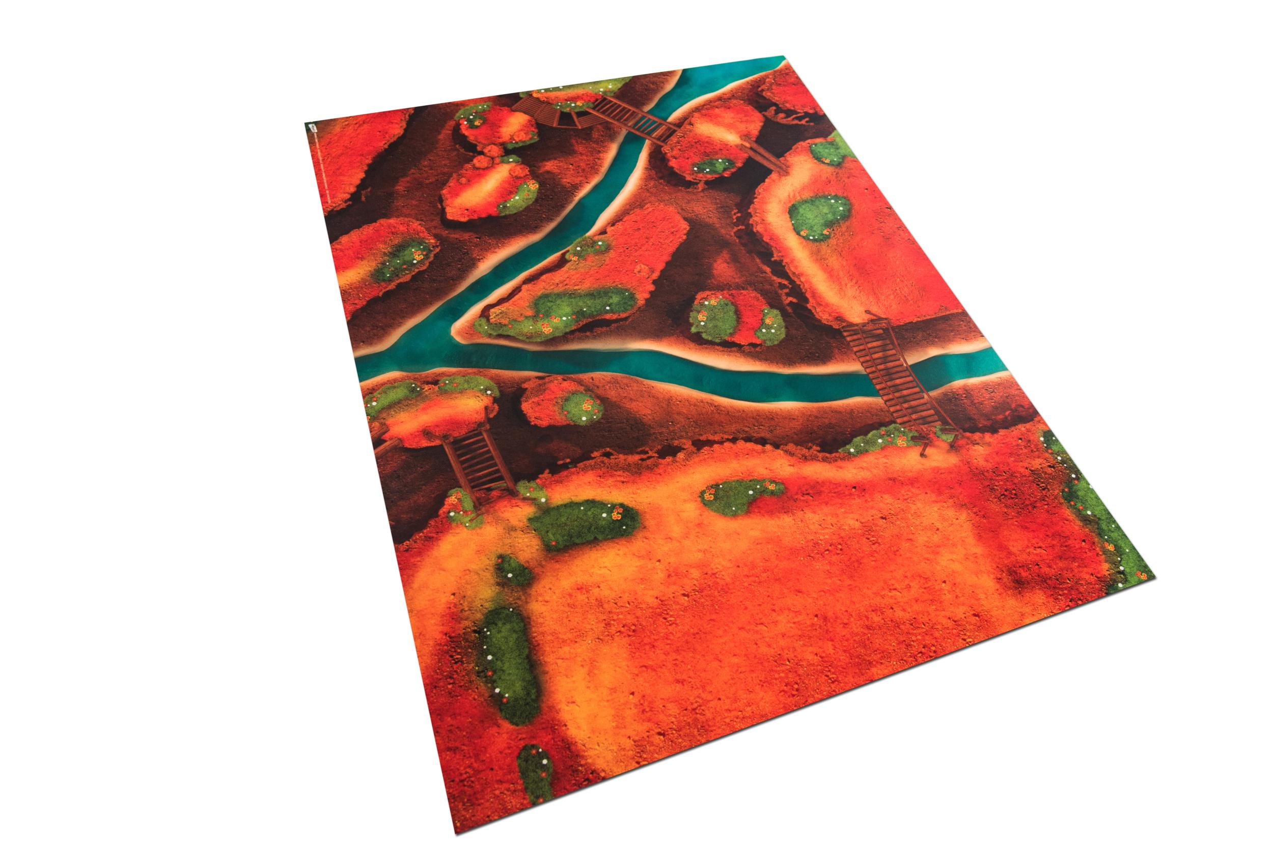 Middelgroot Speelkleed Carpeto - Ravijn Avontuur 120 x 90cm