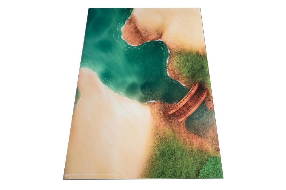 Tapis de jeu Carpeto crique mystérieuse 90 X 60 cm