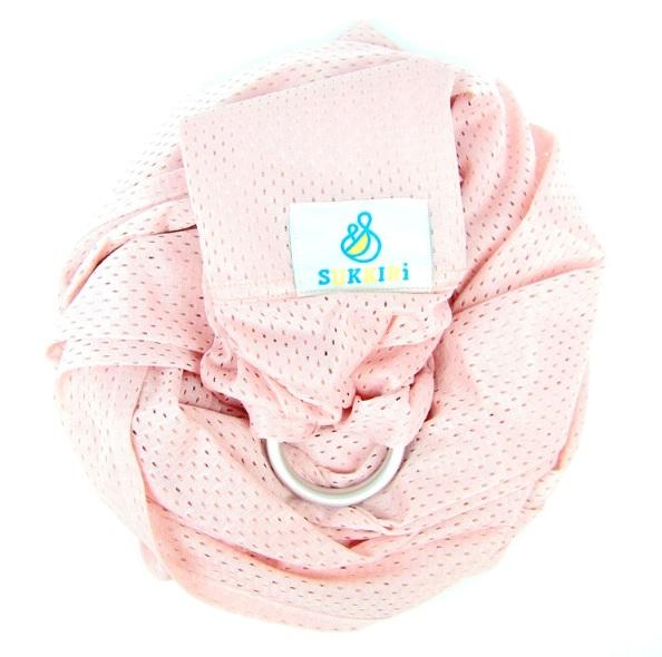 Porte-bébé Sukkiri Rose Pâle