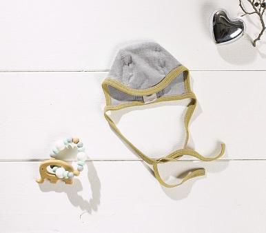 Cosilana Babymutsje - verschillende kleuren wol/zijde