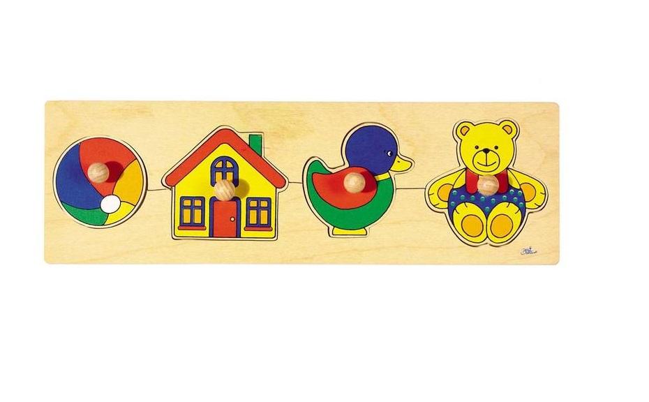 Houten puzzel Speelgoed GOKI