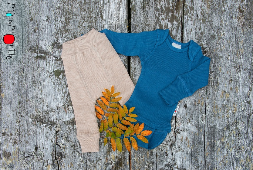ManyMonths wollen Body/Shirt met lange mouwen – Kleuren 2020