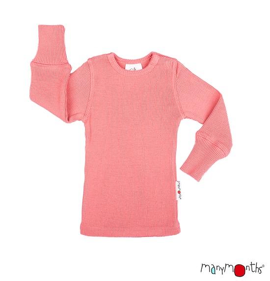 ManyMonths wollen T-shirt lange mouwen – Kleuren 2020