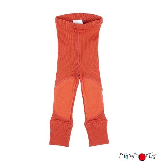 ManyMonths wollen legging met kniestukken –  kleuren 2020
