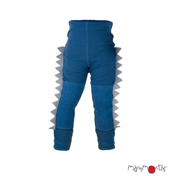 ManyMonths Wollen legging Dino - Kleuren 2020