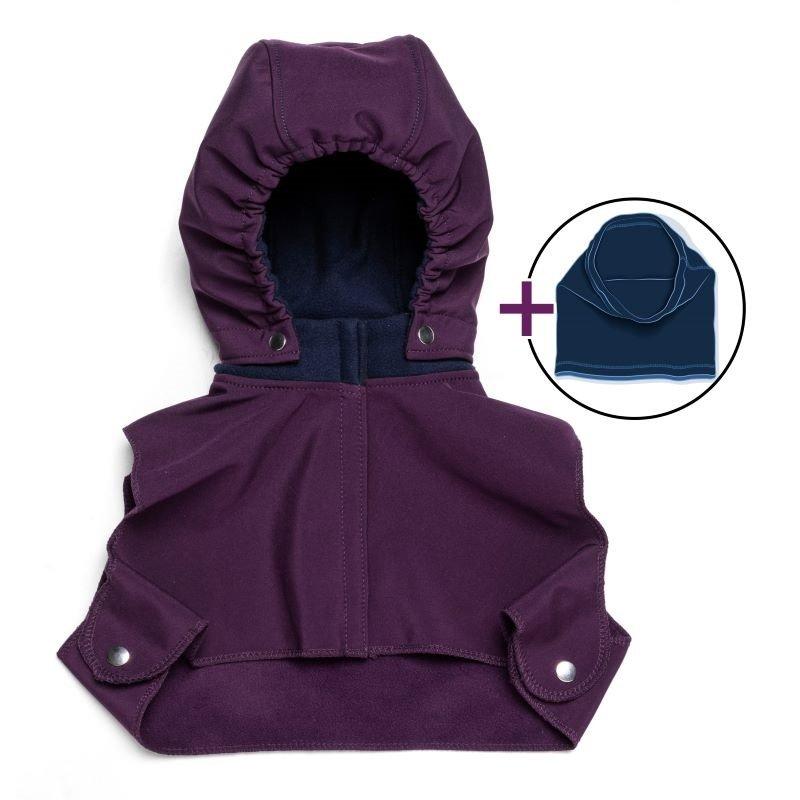 Babyhood Liliputi Blue Plum