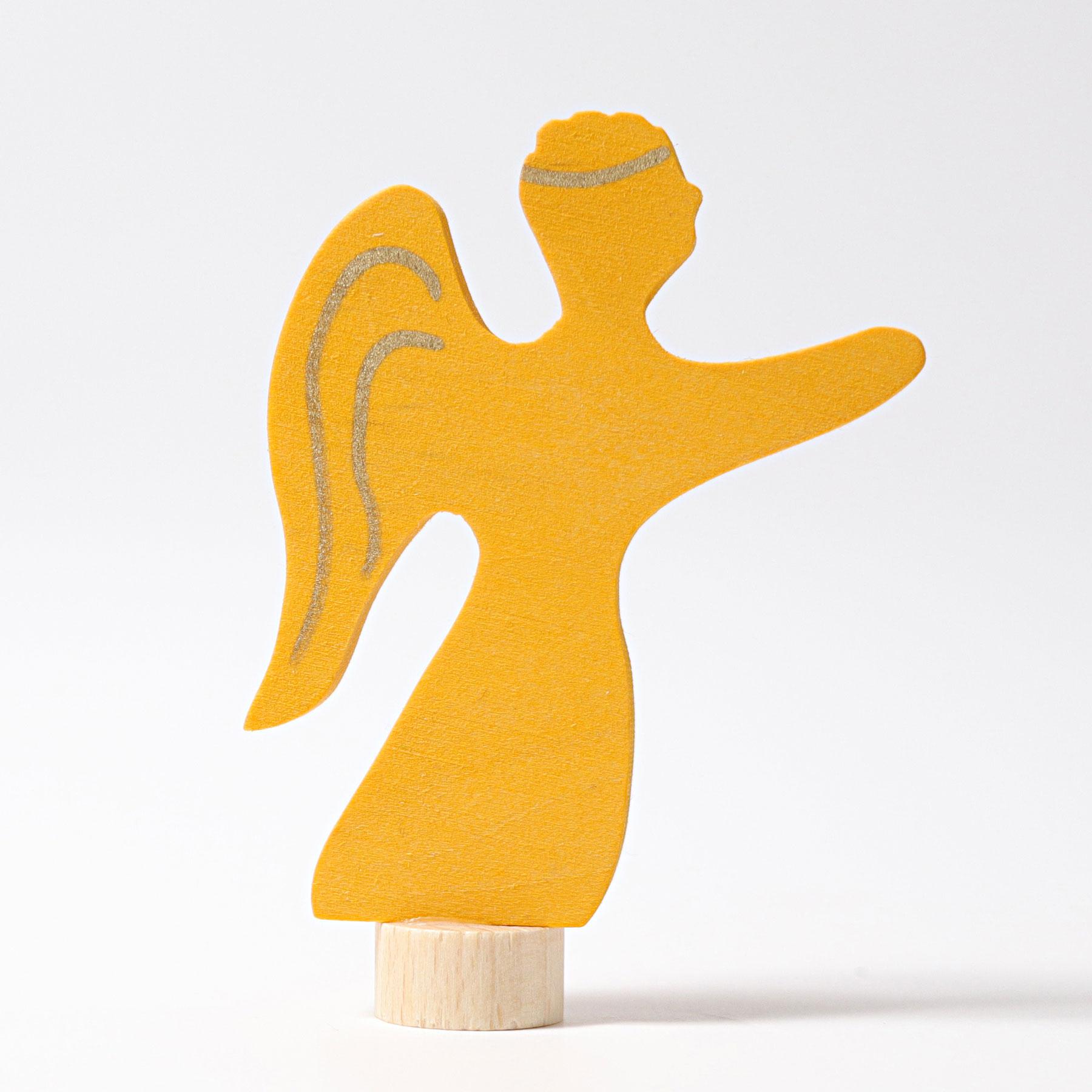 Figurine en bois Ange Grimm's