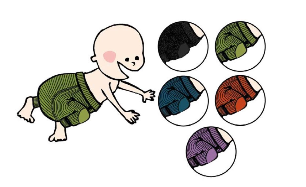 ManyMonths Omkeerbare Longies van wol – Kleuren 2020