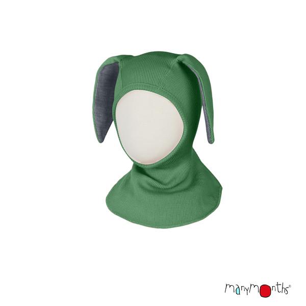 Cagoule lapin ManyMonths - coloris 2021 Jade Green-L