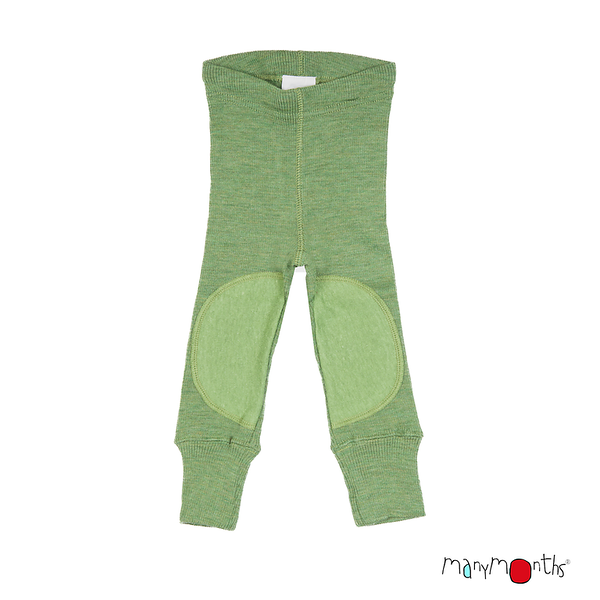 ManyMonths legging unisexe en laine - coloris 2021 Jade Green