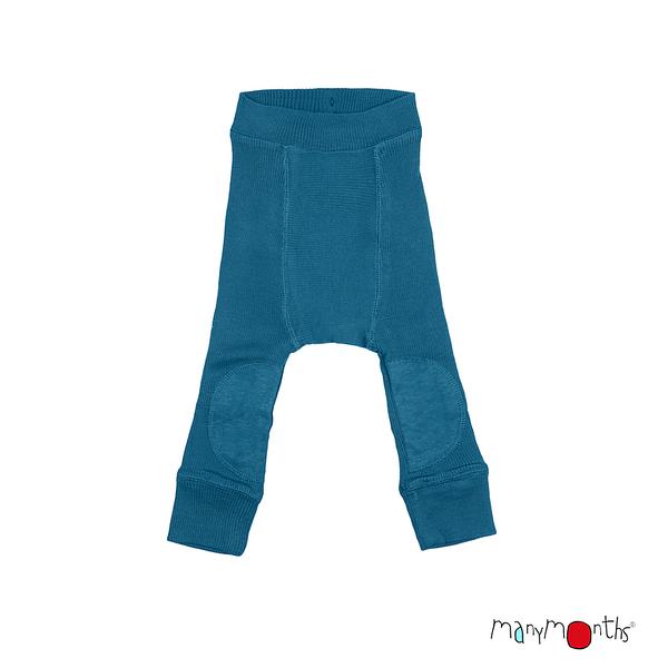 ManyMonths Longie en laine avec genouillère - coloris 2021 Mykonos Waters