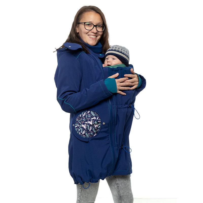 Liliputi Mamacoat manteau de portage et grossesse 4 en 1 Unicorn
