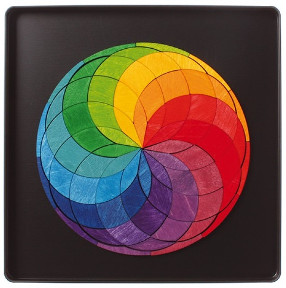 Magneetpuzzel Colour Spiral GRIMM\'s