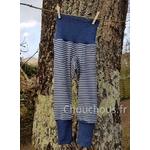 Pantalon-rayé-bleu-Cosilana