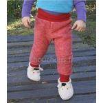 pantalon-Laine-rouge-Cosilana