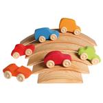 Petites-voitures-en-bois-colorées-2Grimms-6-pièces