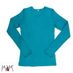 mam-tee-shirt-manches-longues-en-laine-femme-royal-turquoise