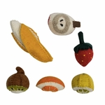 Mini fruit en feutrine - Set de 5 papoose 2