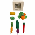 Mini légume en feutrine - Set de 5 Papoose