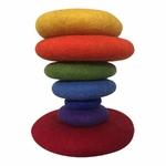 Galets en feutrine Rainbow - set de 7 Papoose 2