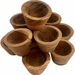 Petits bols en bois - set de 12 Papoose 2