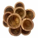 Petits bols en bois - set de 12 Papoose