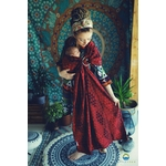 eng_pl_LITTLE-FROG-JACQUARD-RING-SLING-RUBY-ILLUSION-size-M-2nd-quality-6945_1