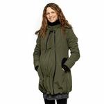 Liliputi Mamacoat manteau de portage et grossesse 4 en 1 Forest Green 2