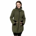 Liliputi Mamacoat manteau de portage et grossesse 4 en 1 Forest Green 4