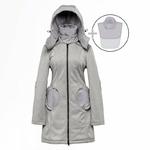 Liliputi Mamacoat manteau de portage et grossesse 4 en 1 Shark 7