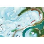 Tapis de jeu Carpeto Etoile des neiges 90 X 60 cm 5
