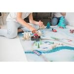 Tapis de jeu Carpeto Etoile des neiges 120 X 180 cm 3