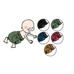 ManyMonths Longie en laine avec genouillère - coloris 2021