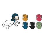 Cagoule lapin ManyMonths - coloris 2021