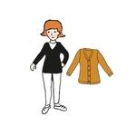 Cardigan Femme en laine MaM - coloris 2021