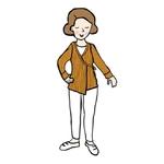 Cardigan cache-coeur Femme en laine MaM - coloris 2021