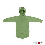 Pull à capuche Dino ManyMonths - jade green