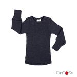T-shirt manches longues en laine ManyMonths - coloris 2021