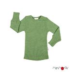 T-shirt manches longues en laine ManyMonths - coloris 2021 Jade Green_1500px-L