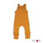 Salopette en laine ManyMonths - coloris 2021 Honey Bread_1500px-L