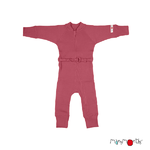 Combinaison en laine ManyMonths - coloris 2021 Earth Red