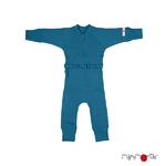 Combinaison en laine ManyMonths - coloris 2021 Mykonos Waters