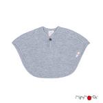 ManyMonths Multi cape en laine - coloris 2021 Platinum Grey