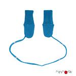 ManyMonths Moufles en laine - coloris 2021 Mykonos Waters