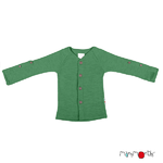 Gilet en laine ManyMonths - coloris 2021 Jade Green