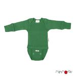 Body T-Shirt Manches Longues ManyMonths - coloris 2021 Jade Green