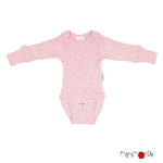 Body T-Shirt Manches Longues ManyMonths - coloris 2021 Stork Pink