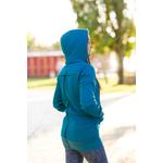 AngelWings Hoodie de portage Bleu Océan 2