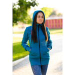 AngelWings Hoodie de portage Bleu Océan